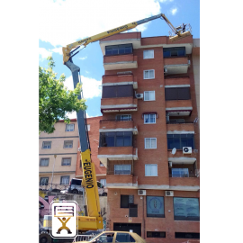 Reparación de fachada en Plasencia