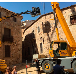 Alquiler de Gruas para Rodajes en Cáceres